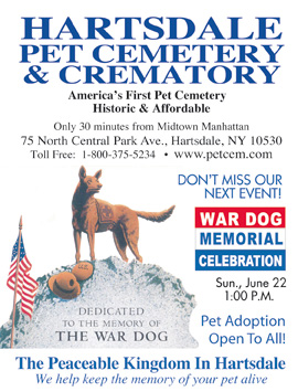 Hartsdale Pet Cemetary